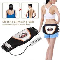 Electric Massagers Slimming Belt Belly Stomach Waisr Trainer Vibroaction Massage Vibrating Fat Burner