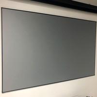 Écrans de projection 90inch Lumière ambiante rejetant ALR Écran du projecteur Ultra-mince bordure Fixe Forge Anti-Light