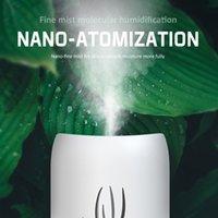 1Set 340 ml LED Luftreiniger Luftfeuchter Mini Aroma Ätherisches Öl Diffusor Carhome Aromatherapie Luftbefeuchter Maschine Dropship 201009