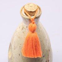5 unids mini cuello corto cuerda borlas joyas casero tela textil ropa ropa colgante artesanía borlas bricolaje ropa decoración material H jllmln