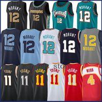 Trae 11 junge ja 12 morant spud 4 webb basketball jersey