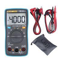 ZT100 디지털 멀티 미터 4000 카운트 백 라이트 AC / DC 전압 Ammeter 전압계 OHM 테스터 주파수 다이오드 미터 1