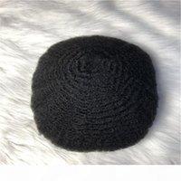 Súper delgado piel 0.02-0.03mm Todos los cabellos V-Loop Men's Toupee Reemplazo de cabello Peluca de las mujeres, 100% Humano Indian Virgin Hair Toupee