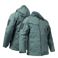 Mege Brand Tactical Trench Coat Military Clothing US Army Autumn Spring Work Jacket Multi Pockets Outdoor M65 homme Veste Y1112