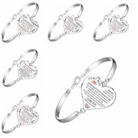 حب القلب على شكل أطفال أساور مجوهرات مطلي الفضة الأطفال أزياء الإسورة إلى ابنتي الابن سلسلة 4 2FK J2B