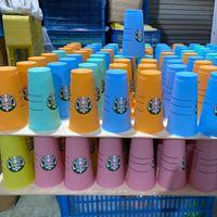 DHL 24OZ CAMBIO CAMBIO DE CAMBIO TAMBLORES PLÁSTICO Taza de jugo de consumo de plástico con labio y mágica de paja Taza de café Costom Starbucks Color Cambio de plástico