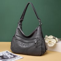 Large Capacity Handbag Fashion Women' s Shoulder New Sof...