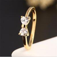 Кольцо для женщин Diamond Ovagement 18K Позолоченный кубический цирконий Сапфирные кольца из драгоценных камней с обручальным кольцом 147 O2