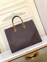 M45320 Onthego GM Tote сумка высочайшее качество Леди корзина сумка сумка мешок Femme Crossbody Tote женская сумка с Toron Top Candles M44925