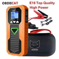 Più nuovo E18 Auto Jump Starter Portatile Portabicchiere caricabatterie Banca Power Bank Automobile Auto Dispositivo per benzina Diesel1