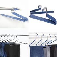 Depolama Pantolon Pantolon Raf S Şekli İleri Ters Kanca Ceket Askı Paslanmaz Çelik Asılı Bez Metal Askıları 1 78RM G2