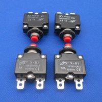 1 unids sobre el protector de corriente del protector eléctrico del interruptor de la sobrecarga térmica del interruptor de sobrecarga térmica del interruptor de reinicio manual 3A 6A 10A 16A