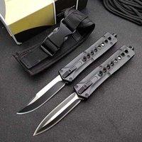 MIC A166 Double ActionAutomatic Knife Hunting Ferramentas de Bolso A162 A163 BM 3300 3400 4600 9400 3551 9600 EDC Auto Sobrevivência Facas A07 Ludt Doc