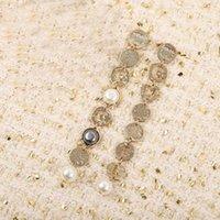 2021 뜨거운 판매 최고 품질의 드롭 귀걸이와 여성을위한 진주와 다이아몬드 웨딩 쥬얼리 선물 무료 배송 PS3599