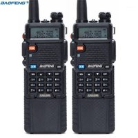 2pcs Baofeng UV-5R 3800 Walkie Talkie 5W 듀얼 밴드 UHF 400-520MHz VHF 136-174MHz 양방향 라디오 휴대용 워키 토키 CB Radio1