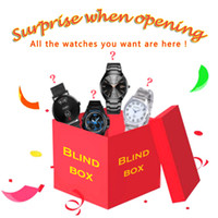 Blue Box для мужчин Женщины Watch Сюрприз слепых ящиков Индивидуальные часы Lucky Package Limited Editon Special Brand Сюрприз подарок