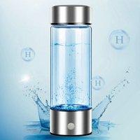 Лучший портативный ионизатор для генератора водорода для чистого H2 богатой водородной водородной бутылкой Электролизовый хидроген 420 мл пить