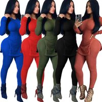 двухсекционный комплект Европы и Америка Explosion 2020 моды женской одежды нижнего качелей раскол набор яма стиль сексуальной осень и зима женщин