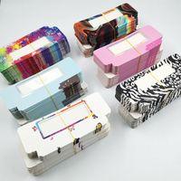Newes 50 / 1000pcs Karton Papierkasten-Verpackung für 25mm lange Wimpern Großhandelsmassen Günstige Recht Lashes Lagerung Verpackung