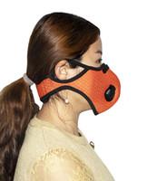 Masque Visage Cyclisme Sport outdoorNous Masques PM2,5 Anti-poussière pollution Défense Masque Exécution Activé Filtre à charbon Masque lavable