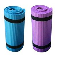 2 шт. Йога коврик складной тренировочный пуск нескользящий вес водонепроницаемый1