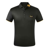2021 디자이너 스트라이프 고품질 캐주얼 코 튼 폴로 셔츠 티셔츠 뱀 파이썬 멜리사 남자의 하이 스트리트 패션 말 폴로 럭셔리 티셔츠