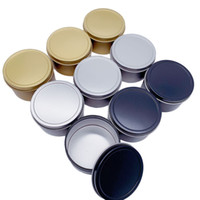 Small Tin Box Candle Jar Gold Tinplate Empty Scented Candle Container Round Chocoate Candy Earphone Accessories Storage Box