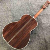사용자 정의 39 인치 모든 실제 전복 클래식 기타 흑단 지판 00045 어쿠스틱 일렉트릭 기타