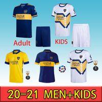 2020 2021 Boca Juniors Soccer Jerseys de Rossi Tevez Boca 20 21 Camiseta Carlitos Maradona Compoto