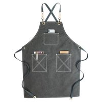 Waterproof work apron thickening barber shop hairdresser flo...