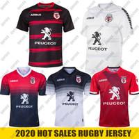 2021 New Toulouse Rugby Jerseys League Jersey Team 2019 2020 Toulouse Rugby الفانيلة الترفيه الرياضة القمصان Lentulus الحجم S-5XL