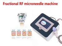 Design 4 Dicas Fracionárias RF Microneedle Machine Facial e Corpo Esticamento Marca A Acne Remoção Cuidados da Pele Rejuvenescimento DHL