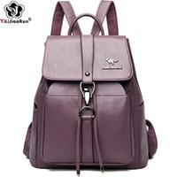 HBP против кражи рюкзак женщин известный бренд кожаный рюкзак женские сумка на плечо большой емкости рюкзаки для школьных подростков девушки