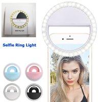 Fabricante mais barato carregando LED Flash Flash Beleza Preencher Selfie Lâmpada Ao Ar Livre Selfie Câmera Recarregável Câmera Recarregável Câmera USB Carregamento