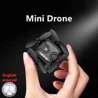 Mini RC Drone 4K HD Telecamera Professionale Dron Remote Control Drone Elicotteri Quadcopter Pieghevole Pieghevole Drone Giocattoli per bambini