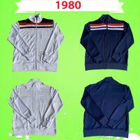 سترة 1980 الرجعية التدريب ارتداء كرة القدم الفانيلة خمر الركض الدعاوى كرة القدم قميص 80 England  الرئيسية أبيض بعيدا أزرق كلاسيكي رياضية