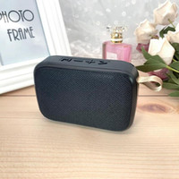 Mini altoparlante senza fili Bluetooth portatile di musica Player 3D musica stereo surround di piccola dimensione e Long standby supporto FM TFCard