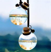 New Home Car Hanging Parfüm Anhänger Duft Lufterfrischer leere Glasflasche Ätherische Öle Diffusor PKWs Ornament