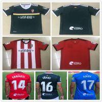 20 21 جديد UD Logrones Soccer Jersey Zelu Vitoria Andy Inaki Errasti تخصيص 2020 2021 Logrones Home Camisetas de Futbol Football Commet