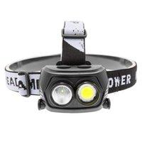 Espiga de luz LED Farol ao ar livre Camping Torch Farol Hiking por bateria