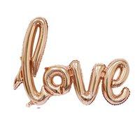 الألومنيوم فيلم احباط إلكتروني بالون خطابات الحب الملتصقة عيد الحب يوم عيد الزفاف الزفاف البالونات الديكور الساخن بيع 2 hy l2