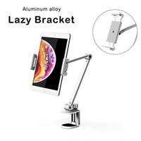 Aleación de aluminio ajustable Portátil Portátil Soporte Teléfono perezoso Universal Plegable Móvil Móvil Teléfono Tablet Tablet Sky para iPad Holder