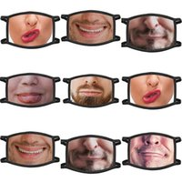 Suitable For Adult And Kids Mask Adjustable Funny Print Mask...