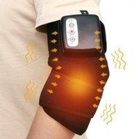 التدفئة الكهربائية الركبة مدلك مساجي هدفين دعم الظهر الكتف مدلك الكوع الركبة العلاج آلام الإغاثة رعاية هدفين