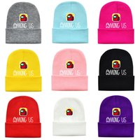 Tra gli Stati Uniti Game Beanie Cap Genitore-Child Warm Winter Wricotted Capputti Cappello per bambini Adulto Bambini Uncinetto Cap Tuque Sci Aurmoni Berryies Cartoon Gorros CZ122101