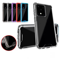 Clear Acrylic TPU PC Phone Case Hard Clear Cover For iPhone 11 Pro XS XR 8 Samsung Note 10 S10 S20 S20 Plus