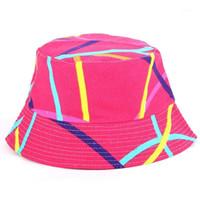 هينماي المرأة دلو قبعة، حماية الأشعة فوق البنفسجية الصيف شاطئ قبعة الأزهار قبعة الشمس للصيد الصيد السفر التخييم 1