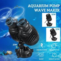 Meigar 220 فولت موجة maker wavemaker المياه عالية الطاقة 10/15/25 واط للأسماك خزان حوض السمك تصفح مضخة Y200922