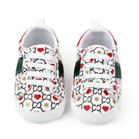 Baby First Walkers Designer New-Corn Print Sneakers Sneakers Casual Chaussures Soft Sole Prewalker Chaussures bébé Sports 0-18 mois