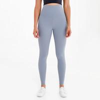 Yogaworld Super High taille Yoga Leggings Vêtements Gym femmes Sweat capris hygroscopiques sentiment Mèche nue Courir Yoga Fitness Pantalons Collants